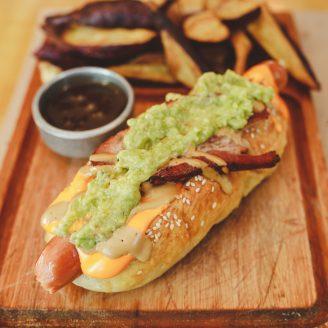 nuevo hot dog mexicano